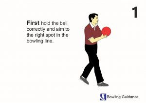 hold the ball first