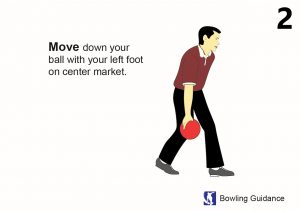 move down your ball