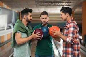 Best bowling ball for house oil patterns
