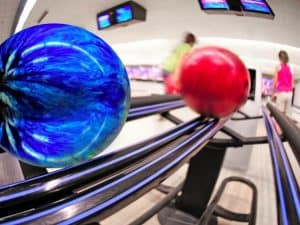 how to remove oil from bowling ball