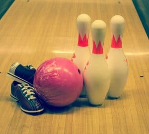What equipment is needed for Bowling